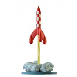 Tintin (Kuifje) Prof Calculus - Rocket - on takeoff