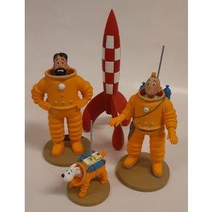 Tintin (Kuifje) Tintin Cosmonaut Set (4 pc.)