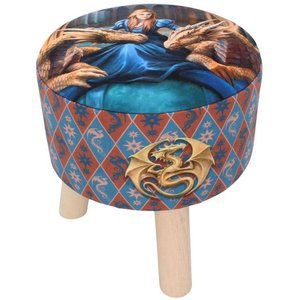 Anne Stokes Fierce Loyalty  Stool
