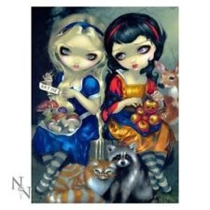 Jasmine Becket-Griffith 3D Picture Alice & Snow White