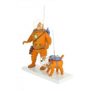 Tintin (Kuifje) Kuifje en Bobbie op het ijs