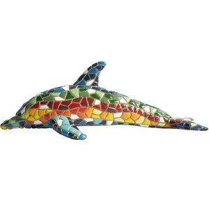 Barcino Design Dolphin Mosaic