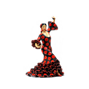Barcino Design Bailaora 5 Black/Red