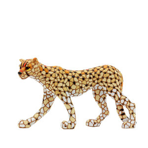 Barcino Design Cheetah  Mosaic effect (13.5cm)