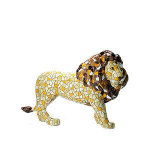 Barcino Design Lion Mosaic effect (15.0 cm)