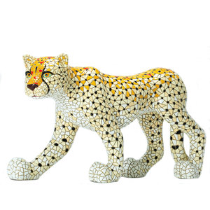 Barcino Design Cheetah  Mosaic effect (45.0 cm)