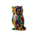 Barcino Design Owl Carnaval Mosaic effect