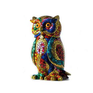 Barcino Design Uil Carnaval Mosaic effect  (18cm)