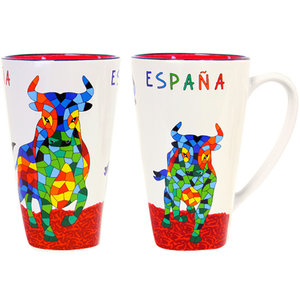 Barcino Design Mug XL Bulls -España (15cm)