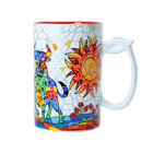 Barcino Design Mug XL Stier  (Hydraulic) ROOD