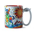 Barcino Design Mug Stier  (Hydraulic) ROOD