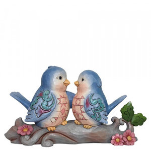 Jim Shore's Heartwood Creek Happiness Together (Lovebirds on Branch)