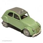 """Tintin (Kuifje) 2 -2CV - """"Thompsons - Des Dupondt"""" (Tintin) 1956 # 29"""