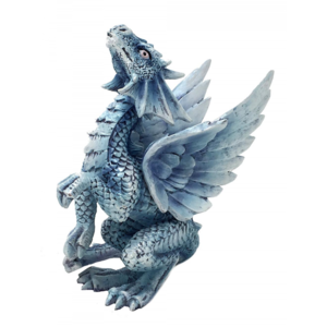 Anne Stokes Baby Wind (Silver) Dragon