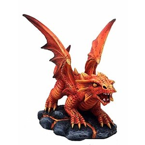 Anne Stokes Baby Fire Dragon