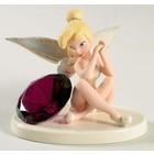 Disney Lenox Tink's Glittery Gift February Birthstone