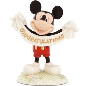 Disney Lenox Mickey's Congratulations