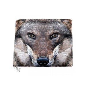 """Anna Steinbauer Wallet """"Portrait of a Wolf"""""""