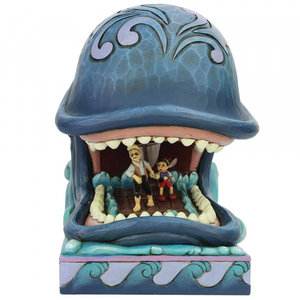 Disney Traditions Monstro w. Gepeyyo & Pinocchio (A Whale of a Whale)