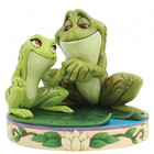 Disney Traditions Tiana & Naveen as Frogs (Amorous Amphibians)