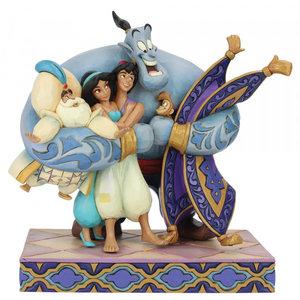 Disney Traditions Aladdin Group Hug