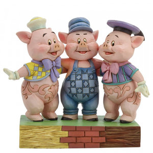 Disney Traditions Three Little Pigs  (Silly Symphony)
