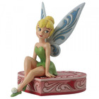 Disney Traditions Tinker Bell on Chocolates Heart