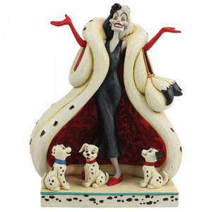 Disney Traditions Cruella & Puppies