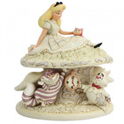 Disney Traditions Alice in Wonderland (White Woodland)