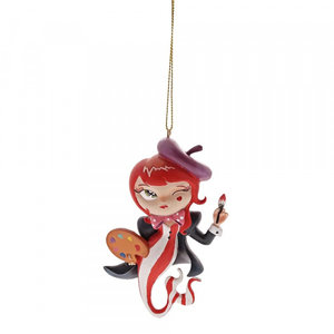 Disney World of Miss Mindy L'Artiste Mermaid  Hanging Ornament