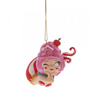 Disney World of Miss Mindy Cotton Candy Mermaid  Hanging Ornament