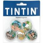 Tintin (Kuifje) Tintin Magnets (Set of 5)