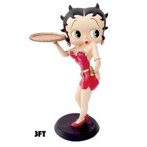 Fleischer Studios Betty Boop Waitress 3ft