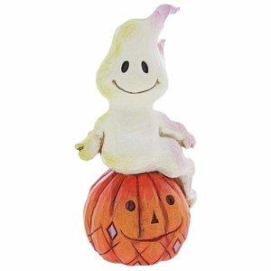 Jim Shore's Heartwood Creek Ghost and Pumpkin (Mini)