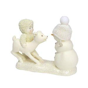 Snowbabies Deer Me, Who's That?