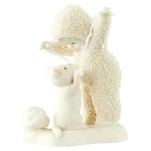 Snowbabies Cats Play