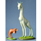 Mouseion Giraffe and Two-Legged Dog  (Set of 2)