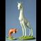Mouseion Giraffe en tweepotig hondje (Set van 2)
