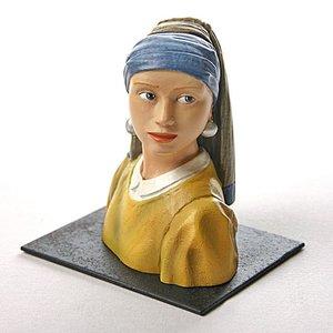 Mouseion Het meisje met de parels (ca.1665)