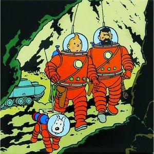 Tintin (Kuifje) Magnet - Tintin, Haddock & Snowy
