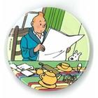 Tintin (Kuifje) Magnet - Tintin breakfast