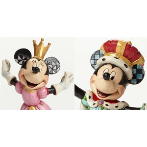 Disney Traditions Mickey King & Minnie Queen for a Day (SET)