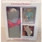 Cherished Teddies Holiday Gift Set (Sonny)