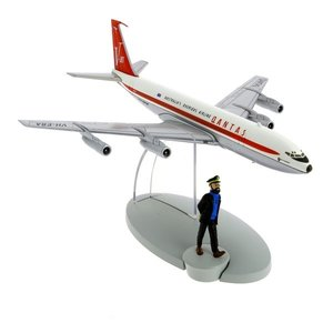 Tintin (Kuifje) Qantas Airlines Boeing 707