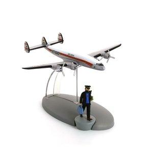 Tintin (Kuifje) Air India aeroplane