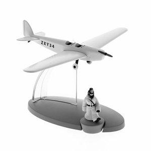 Tintin (Kuifje) Het vliegtuig van de Duitse Politie
