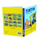 Tintin (Kuifje) Ansichtkaarten – Kuifje en de auto's (Set van 16)