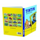 Tintin (Kuifje) Postcards - Tintin and the cars  (Set of 16)