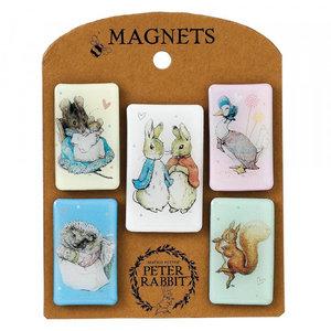 Beatrix Potter / Peter Rabbit Beatrix Potter Characters Magnet (Set)