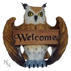 Studio Collection Tawny Owl Welcom Ornament